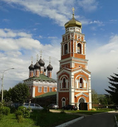 Храм  Живоначальной Троицы, Болхов, трасса Р92