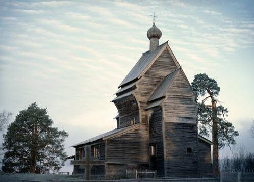 Церковь Георгия Победоносца, Родионово, трасса Р37
