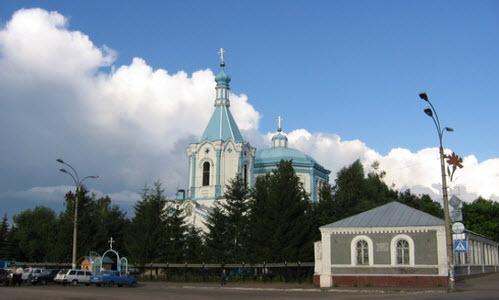 Церковь Иоанна Богослова, рассказово, трасса Р208
