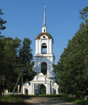 Церковь Рождества Христова, Макарьев, трасса Р98