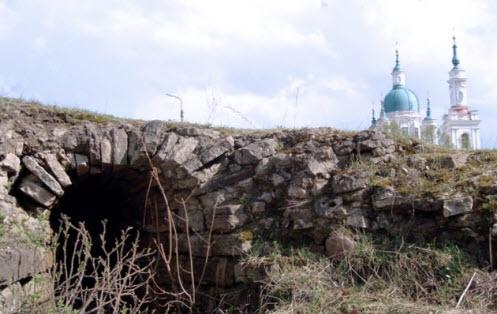 Часть земляных укреплений крепости Ям, Кингисепп