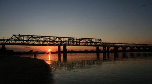 Борский мост, трасса Р159