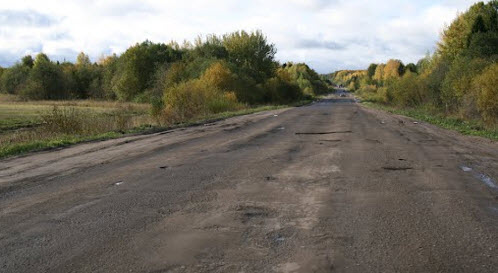 Дорога Р157, после п. Верхнеспасский
