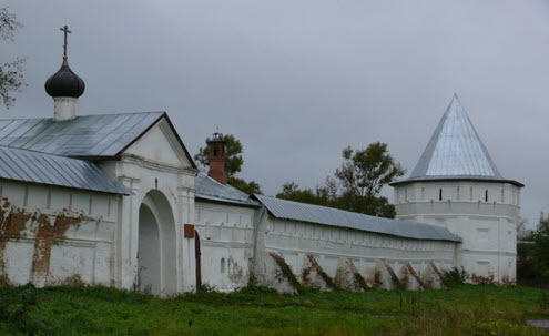 Николо-Улеймский монастырь, трасса р153