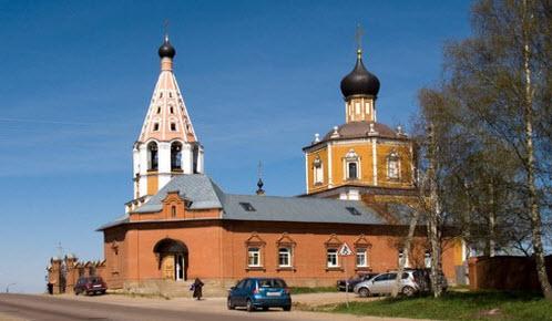 Никольская церковь, трасса р113, Озерецкое