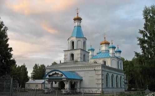 Покровская церковь, Шахунья, трасса Р159