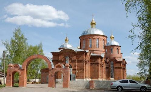 Покровская церковь, кораблино, трасса р127