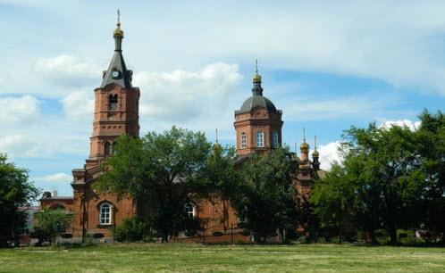 Собор Александра Невского, Курган, трасса р354