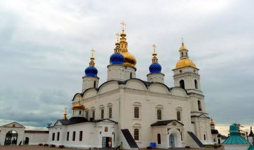Софийско-Успенский собор, Тобольск, трасса р404