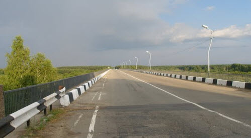 Трасса Р157, мост через ветлугу