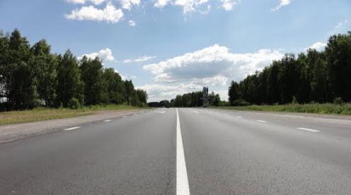 Трасса Р354, Свердловская область
