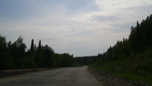 Трасса Р404, ХМАО