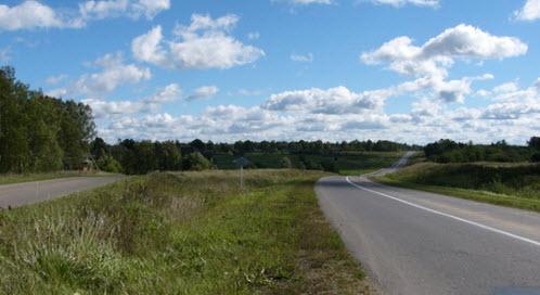 Трасса р153 возле Давыдово