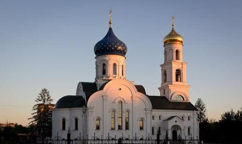Церковь в Заволжье, трасса Р160