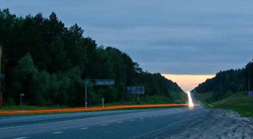 трасса р402, маршрут Тюмень Омск