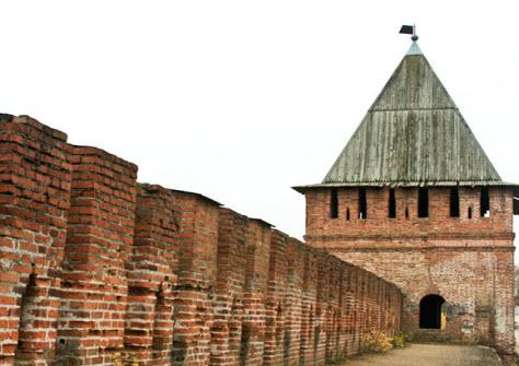 Воронина башня, достопримечательности трассы М1