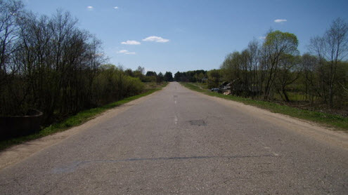 Дорога Р134, трасса Р134