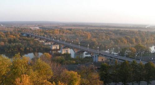 Мост через Клязьму, владимир