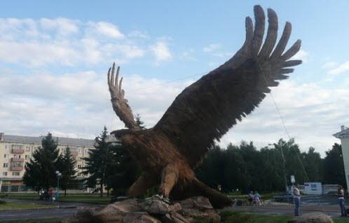 Памятник орлу, Орел, маршрут брянск ейск