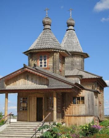 Старообрядческая церковь, семеновка, трасса р172