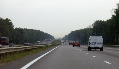 С трассы М4 выполнены подъезды