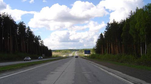 Трасса М5, дорога Челябинск - Екатеринбург