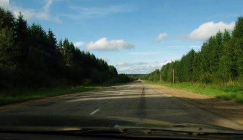 Трасса Р134, Вязьма - Сычевка