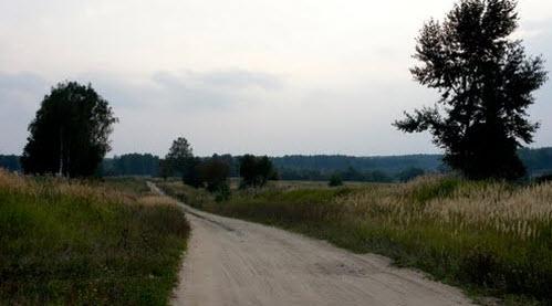 Трасса Р134, возле Чоботово