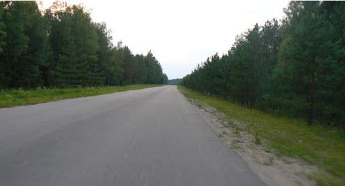 Трасса р130, маршрут Демидов Рудня