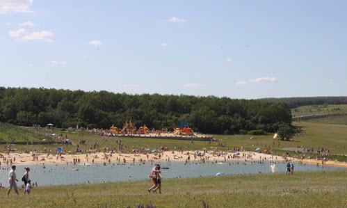 пляж, парк кудыкина гора