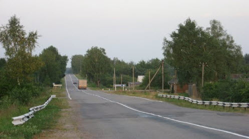 Трасса Р133 маршрут Ольша — Велиж — Невель — граница с Белоруссией (на Клястицы)