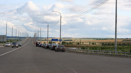 трасса р-169, мост черз вятку