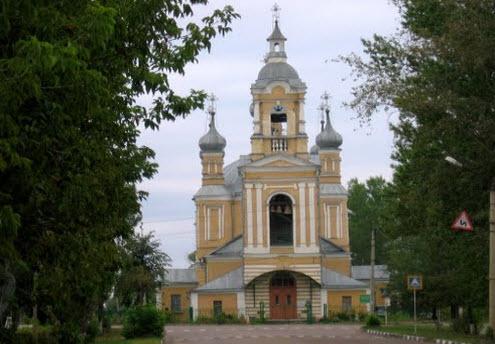 Ильинская церковь, старица, трасса Р88