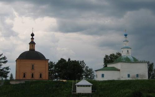 Михайло-Архангельский монастырь, трасса Р27