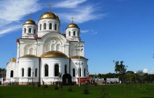Свято-Николаевский собор, Валуйки, трасса Р187