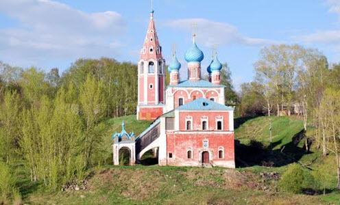 Преображенская церковь, тутаев, трасса р-151