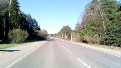 Трасса Р-110, дорога Р110
