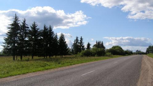 Трасса Р57, возле Сорокино