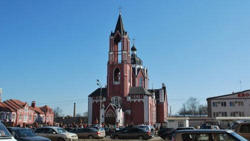 Троицкий собор, Щелково, трасса Р-110