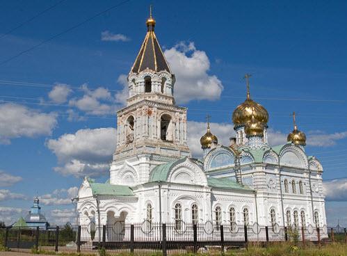 Церковь Рождества Богородицы, Важкурья, трасса р26
