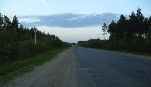 Трасса Р168, маршрут Киров — Адышево — Нижнеивкино — Советск