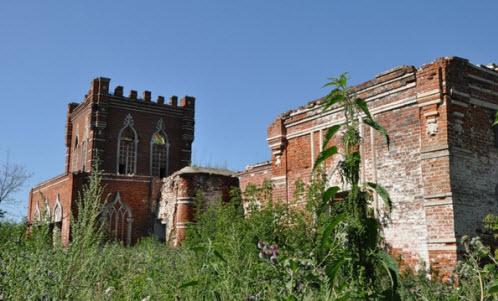 каргашино, руины, трасса р124