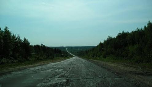 трасса Р26, маршрут Сыктывкар - Усть-Кулом