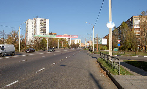 трасса р-110, фрязино