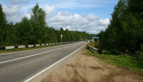 трасса р-168, мост через реку Быстрицу