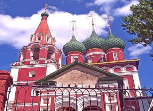 церковь Михаила Архангела, ярославль маршрут