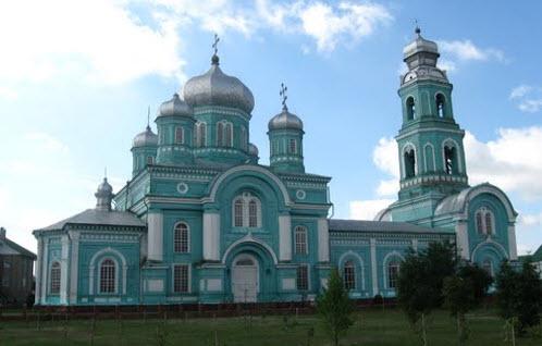 церковь Троицы, ровеньки, трасса р187