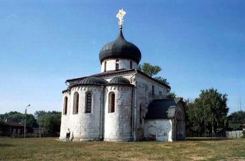 Георгиевский собор, Юрьев-Польский, трасса р74