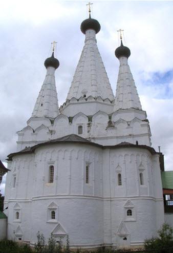 Дивная церковь, Углич, трасса р104