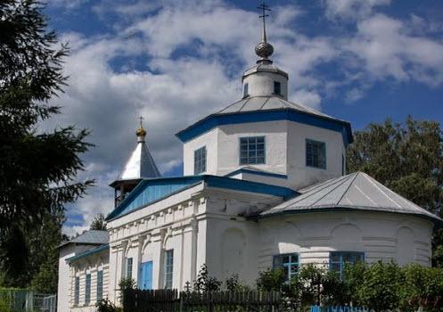 Покровская церковь, Пестово, трасса Р8